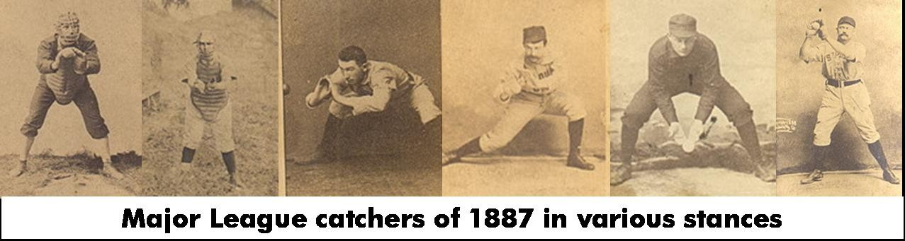 Major League Catchers of 1887